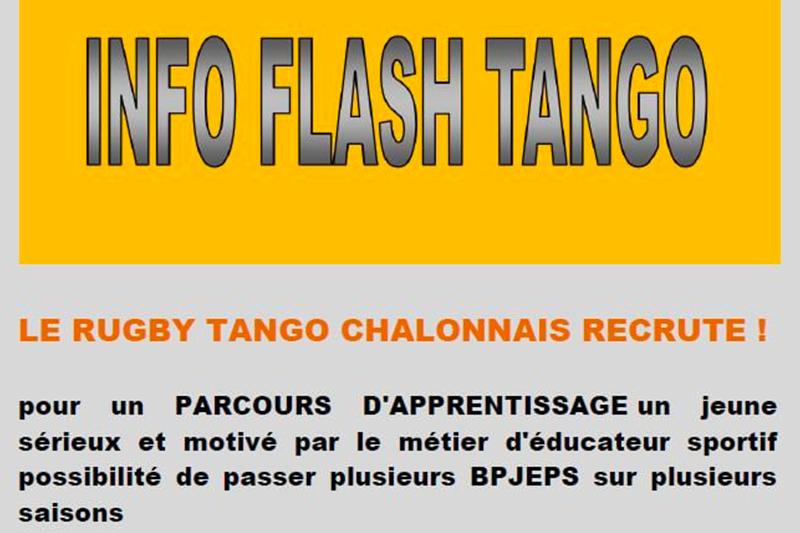 Rugby Tango Chalonnais recrute